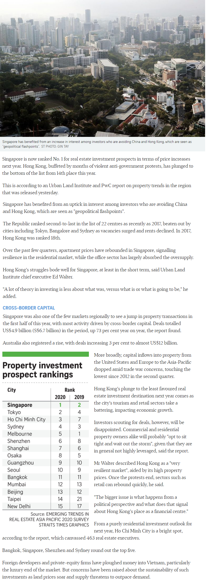 Pasir Ris 8 - Singapore Tops Region For Property Investment Prospects