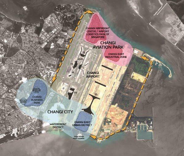 Pasir Ris 8 - Changi Map